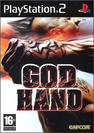 Jaquette PAL de God Hand.
