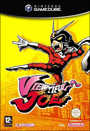 Jaquette PAL Viewtiful Joe.